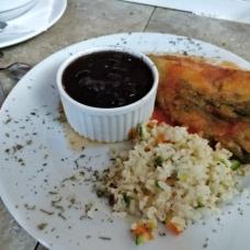 Cafe Santa Ana, platillo