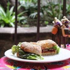 Cafe Santa Ana, sandwich
